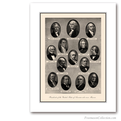 US Presidents Freemasons