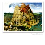 The Tower of Babel, Bruegel L'Ancien, 1563. Masonería