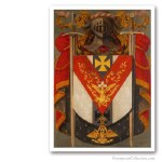 Knight Rose Croix Symbolic Coat of Arms. Masonería