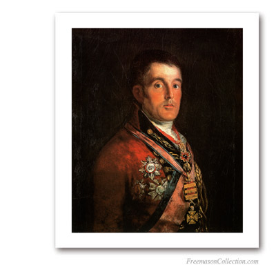 Brother Wellington. Goya. Pinturas Masónicas